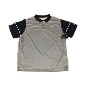 NEW NWT Seattle Seahawks Nike Champ Drive Dri Fit Performance Polo Shirt 3XL