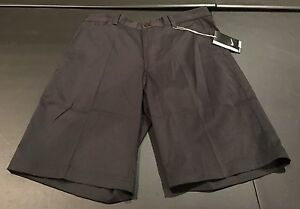 NWT Nike Golf Men's Shorts Black Size 32 Standard Fit Dri Fit New