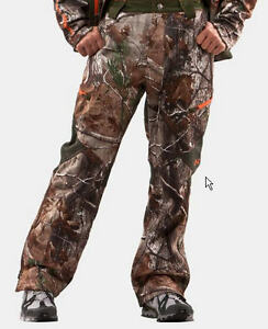 "Under Armour Men's Camo Ridge Reaper 4032"" Softshell Pants Cold Gear NWT $180"