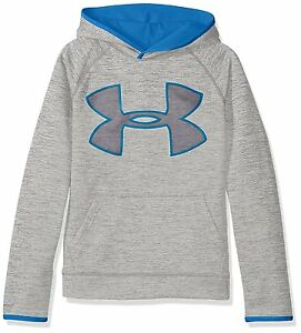 Under Armour Boys Storm Armour Fleece Twist Highlight Hoodie Steel 036 Youth