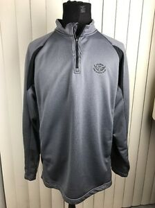 UNDER ARMOUR 12 ZIP Silver GOLF PULLOVER US OPEN 2012 OLYMPIC CLUB Mens Size XL