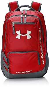 Under Armour Storm Hustle II Backpack RedGraphite One Size