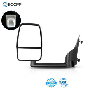 Smooth Tow Manual Mirror LH Left Driver Side For 03 17 Chevy Express Savana $136.99