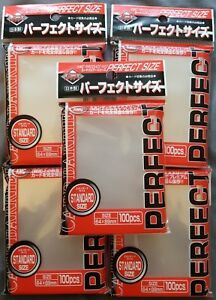 5x KMC Perfect Fit  Size Sleeves - 100 Count - MTG Magic the Gathering Pokemon