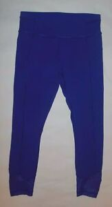 LULULEMON PACE QUEEN TIGHTS PANT PURPLE YOGA PILATES RUNNING WORKOUT RARE EUC 6