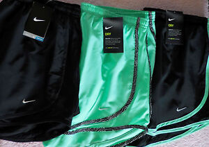 NIKE~ Women's DRI-FIT RUNNING Gym SHORTS~ X-Large (XL)~ LOT OF 3~Free Ship~NWT