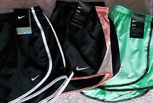 NIKE~ Women's DRI-FIT RUNNING Gym SHORTS~ Large (L)~ LOT OF 3~Free Ship~NWT