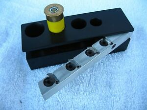 Shotshell Reloading Disassembly Jig for 12-20-28-410 Plastic Shells