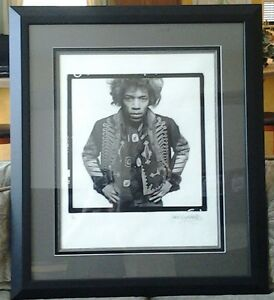 Jimi HendrixGered Mankowitz SIGNED and numbered 20 X 24 photo!!!!