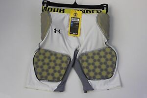 Under Armour Boy's Vented 5 Pads Youth Fitted Football Pants Sz XL NWT $65