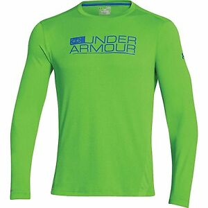 Under Armour Iso-Chill Element Vented Shirt GEKO GRN XL