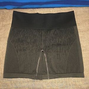Women's Lululemon Brown In The Flow Compression Training Yoga Shorts - Size 12