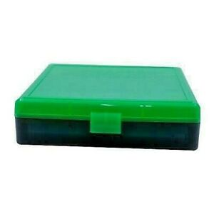 BERRY'S PLASTIC AMMO BOXES (6) ZOMBIE 100 Round 40 S&W  45 ACP - FREE SHIPPING