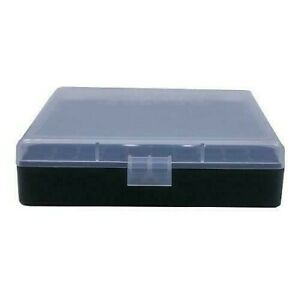 BERRY'S PLASTIC AMMO BOXES (6) CLEAR 100 Round 40 S&W  45 ACP - FREE SHIPPING