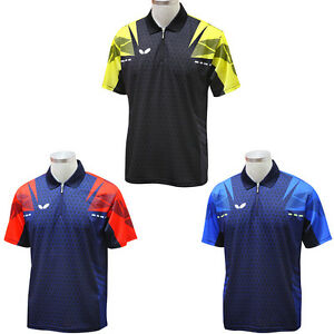 Ping Pong Jersey Coolever Dry Fit Bowling Badminton Tennis Sport Shirt Competion