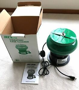 RCBS Vibratory Case Cleaner Tumbler 110VAC - 87088 Media included in Hopper NEW