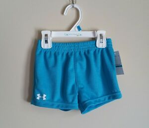 UNDER ARMOUR Toddler Girl 24M Heat Gear Athletic Shorts NWT  FREE Shipping