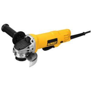 DEWALT 7 Amp 4.5 in. Small Angle Grinder with Paddle Switch DWE4012 New $63.99