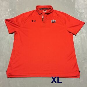 Auburn Team Issued Player Issued Under Armour XL Polo