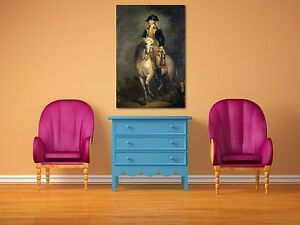 George Washington Rembrandt Painting Giclee Canvas Print Art Home Decor Wall
