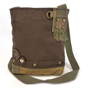Chala Canvas Cross-body Messenger Bags Only (6 Colors)- 11.5 x 10