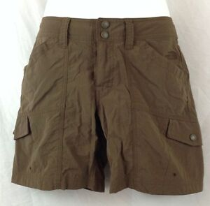 NEW The North Face UPF 15 Sun Protection Women's Cargo Shorts Szie 2