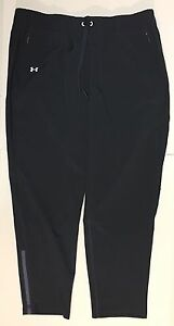 NWT Under Armour Womens Running Pants Run True 1281921 Size X-Large Gray $74.99