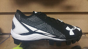 Under Armour Leadoff Youth Baseball Cleats 1264187-011 NEW