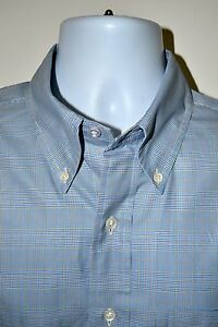 Brooks Brothers Country Club Men's Multi-Color Plaid Sport Shirt Size Large