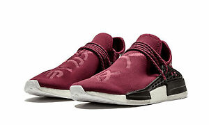 BRAND NEW Adidas PW BB0617 Human Race NMD (Friends and Family)Burgundy SIZE