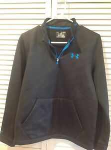 UNDER ARMOUR COLD GEAR YOUTH XLJTG LOOSE FIT TOP ( SWEATER)