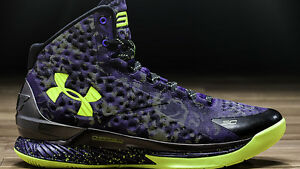 Under Armour Curry 1 All Star Dark Matter Size 13. Warriors dub nation steph