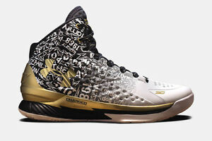 Under Armour Curry 1 B2B MVP Size 12. Warriors Dub Nation Splash Steph
