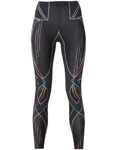 New CW-X Revolution Compression Women Sports Running Tights L size Japan