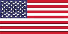 AMERICAN COUNTRY FLAG STICKER DECAL 5YR VINYL STATE FLAG $2.99