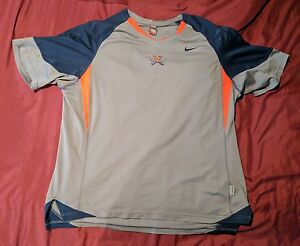 Nike FIT DRY 3XL University of Virginia UVA Athletic Shirt (100% Polyester)
