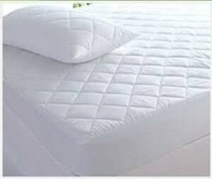 Super Luxury 100%  Extra Deep 40cm Egyption Cotton Quilted Mattress Protector