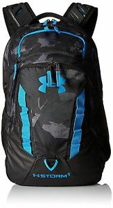 Backpack Under Armour Storm Recruit BlackStealth Gray One Size Water-resistant