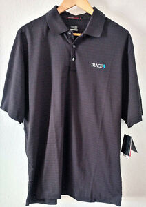 Trace 3 Nike Drifit Men's Shirt TIger Woods Collection NIke Fit Dry Size Large