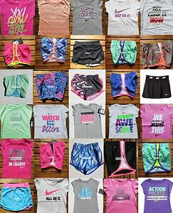 NIKE GIRLS ~ 2T or 3T or 4T *TEMPO RUNNING SHORTS ~ T-SHIRTS ~ 8pc ~ $178 Retail