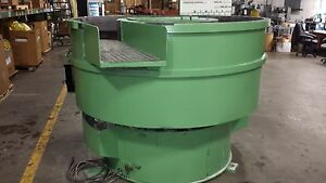 ROTO FINISH 20 CU'FT VIBRATORY FINISHER
