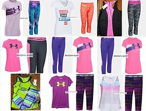 UNDER ARMOUR XL ~ EXTRA LARGE CAPRI LEGGINGS ~ T-SHIRTS ~ 3 LOTS ~ BNWT - $198