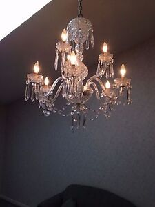 Rare Waterford Crystal Chandelier