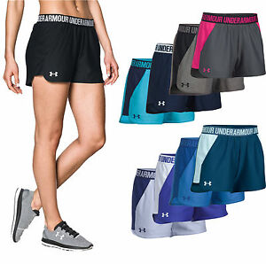 Women Under Armour Shorts Under Armour Play Up 3.0 and 2.0 Running Shorts NEW $22.45