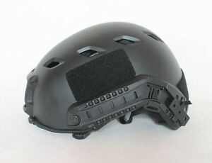 US TACTICAL LIGHTWEIGHT OPS-CORE FAST BASE JUMP AIRSOFT HELMET BLACK