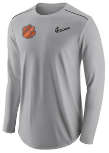 Nike Dry Clemson Tigers CFP Pre-Game Diamond Quest Player shirt football fit men