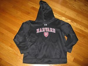Boys Under Armour Hoodie Sweatshirt Harvard size Youth XL