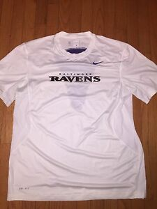 NFL Baltimore Ravens Nike Dri-Fit Player Worn Shirt Size XL Dennis Pitta