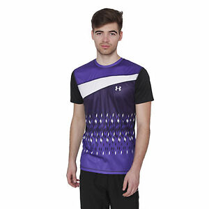 UNDER ARMOUR DRY-FIT RELAX FIT WORKOUT TRAINING SPORT GYM LIFTING T-SHIRT