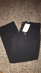 Under Armour Youth Small Match Play Black Dress Golf Pant NWT